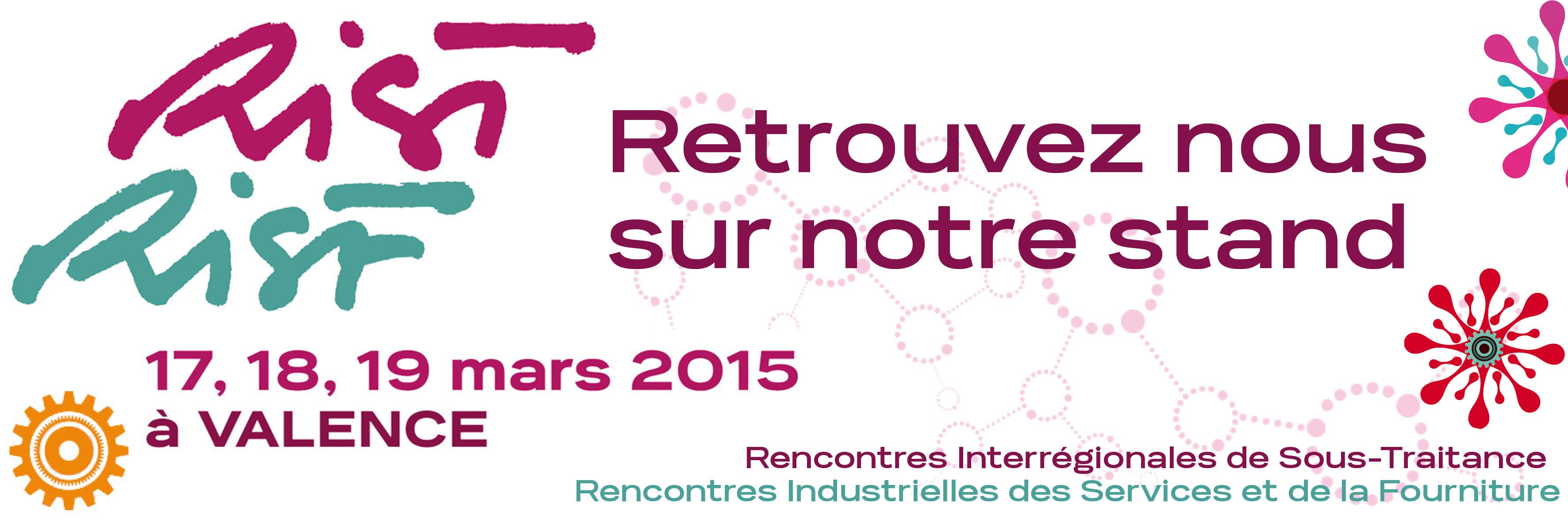 Salon 2015 : rist,  les rencontres de l'industrie