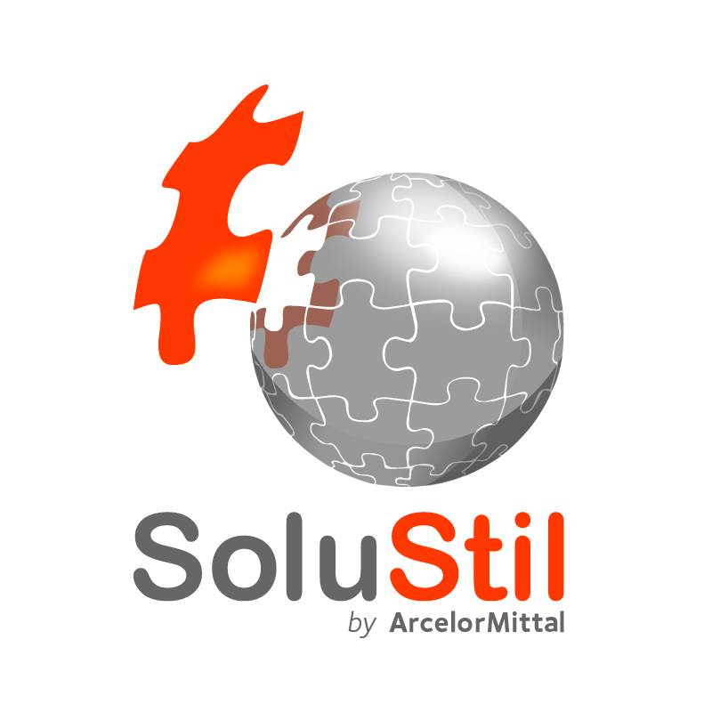 SOLUSTIL arcelor logo