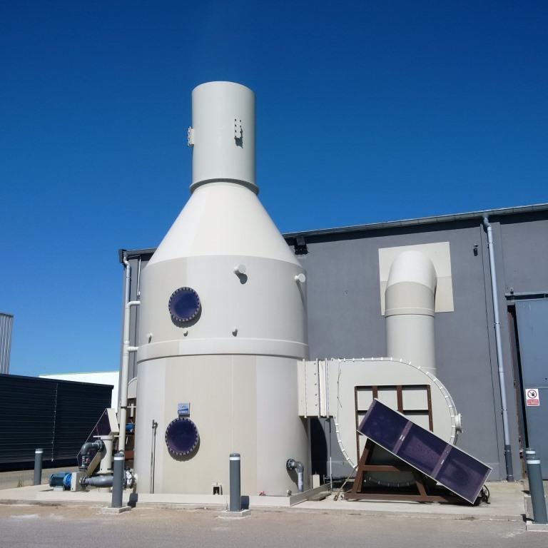 station d'épuration des liquides
