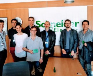 VISITE du Site de SCHNEIDER ELECTRIC ALPES