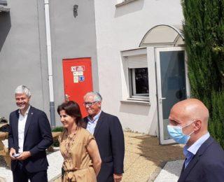 M. Laurent WAUQUIEZ visite TDS